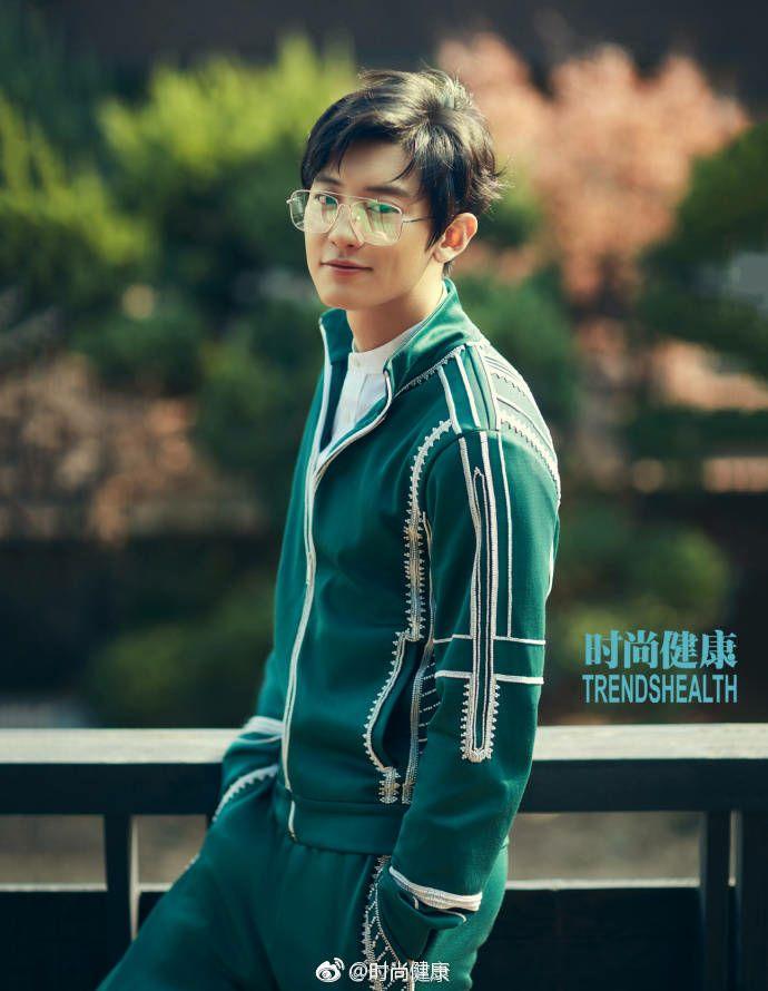park chanyeol trendshealth magazine may 2018
