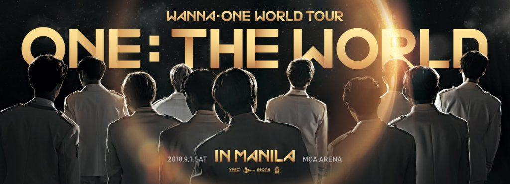 Wanna One in Manila