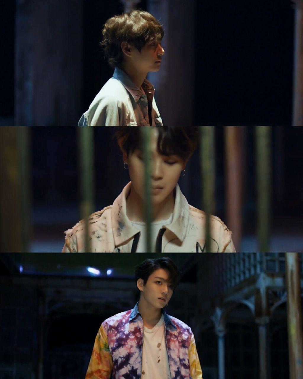 BTA fake love music video comeback teaser