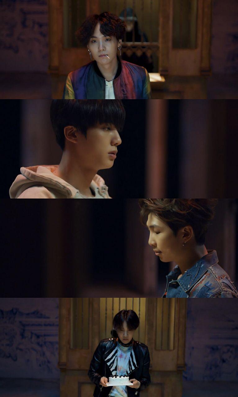 bts fake love music video comeback official teaser