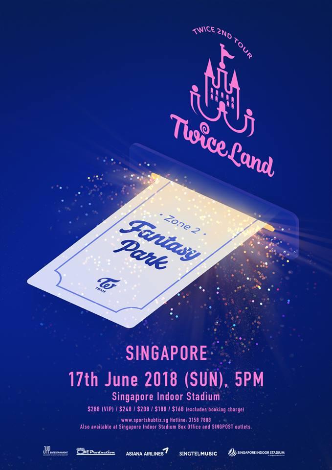 twiceland zone 2 fantasy park singapore one production
