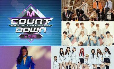 mnet m countdown taipei lineup