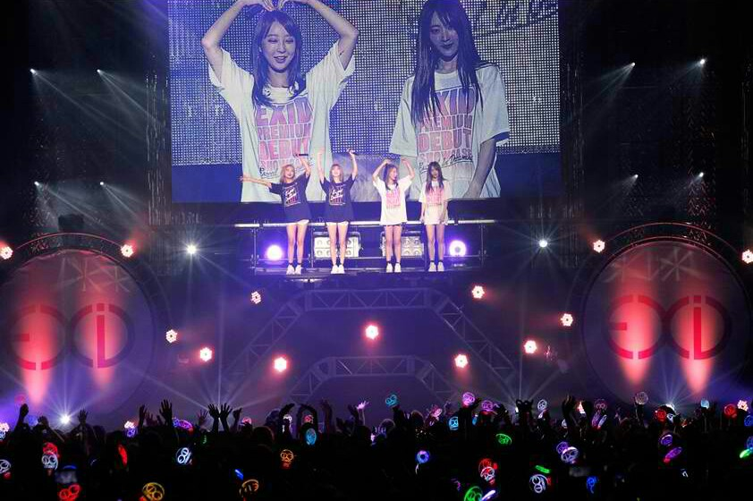 EXID Successfully Holds Debut Showcase In Japan + Surprise