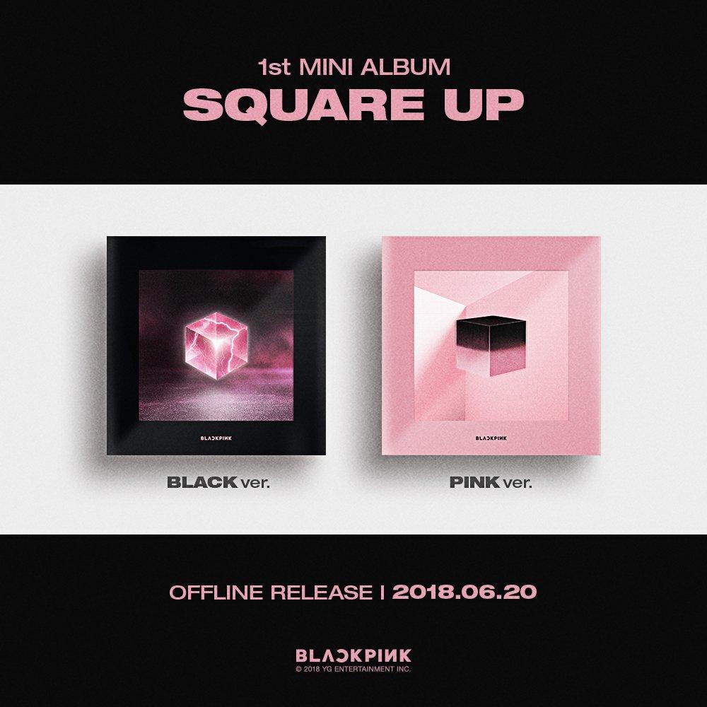 BLACKPINK physical album cover