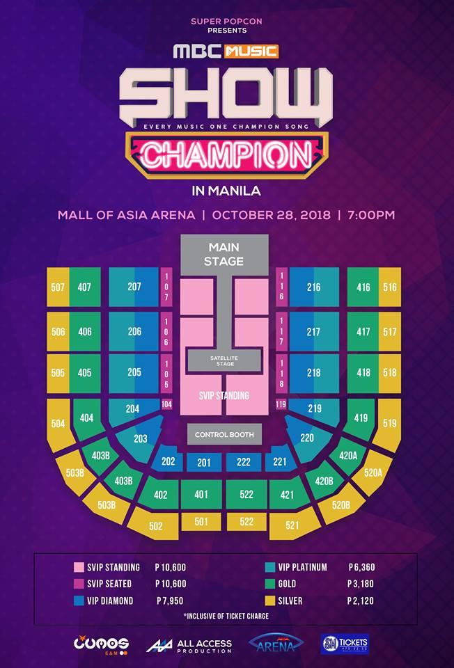 Show Champion in Manila