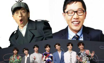 2018 most influential korea yoo jae suk bts kim jae dong
