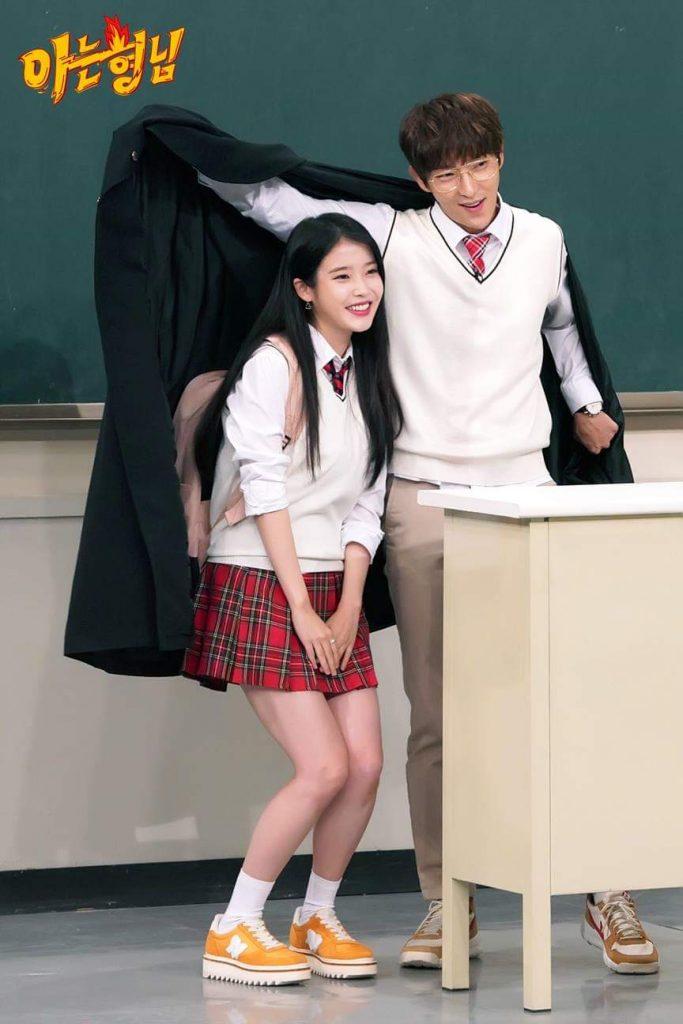 IU and Lee Jun Ki