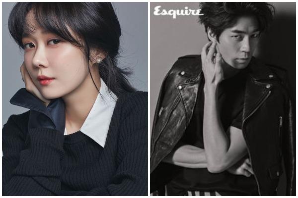 Jang Nara and Shin Sung Rok
