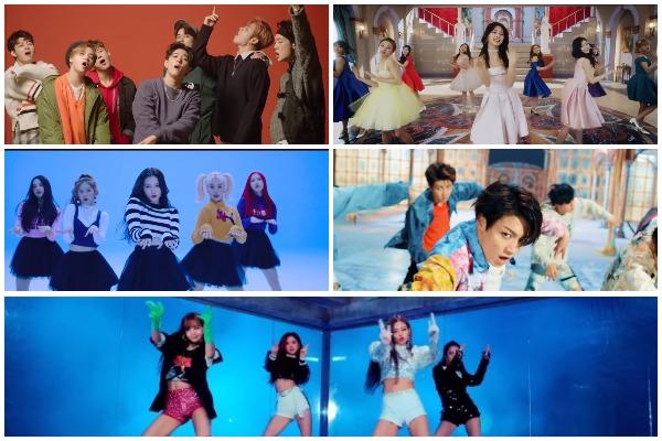 K-Pop YouTube Videos Artists
