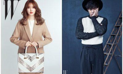 Yoon Eun Hye and Chun Jung Myung