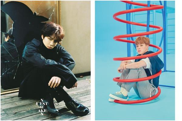 JR or NU'EST & JiMin of BTS