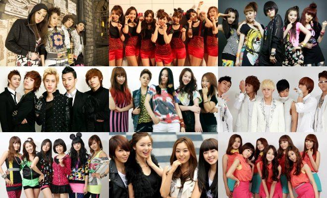 K Pop Groups In 2009 1