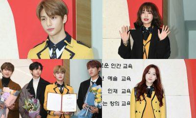 Kpop idols graduated