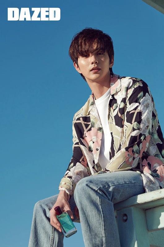 Yoo Seung Ho *Image via Dazed Korea*