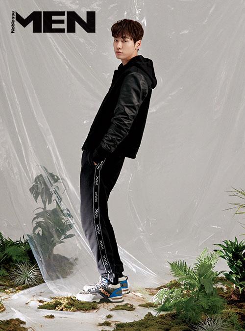 kim young kwang *Image via Noblesse Man Magazine*