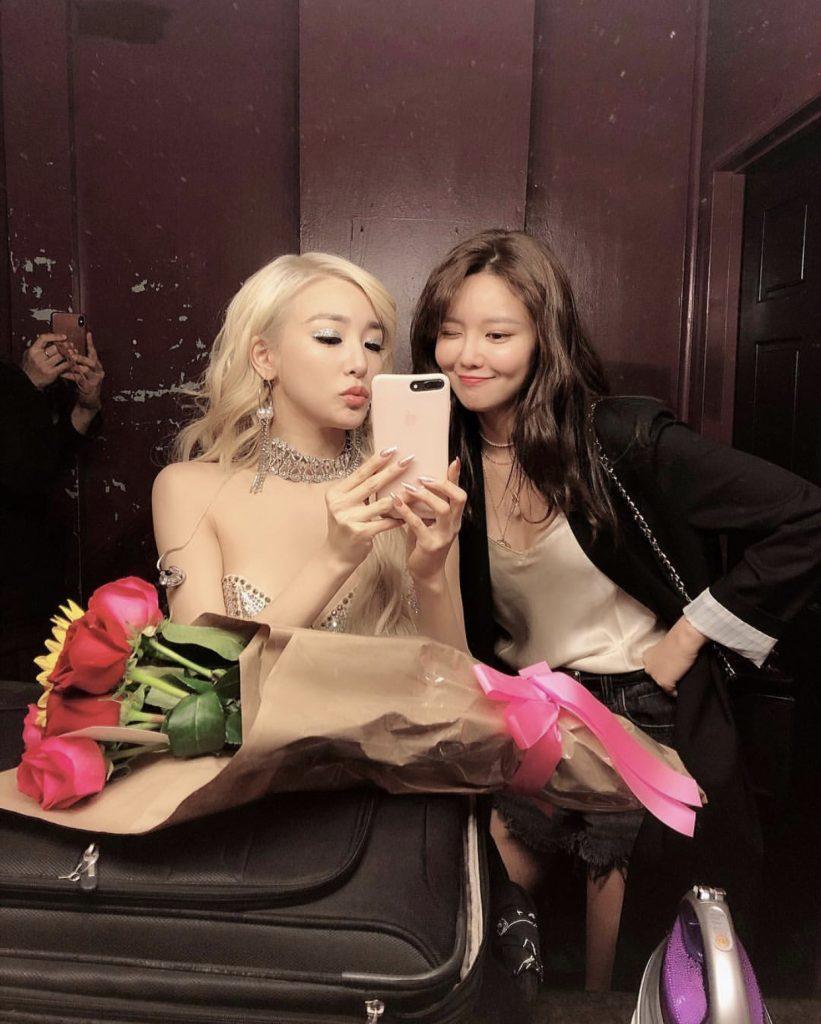 Tiffany and Sooyoung