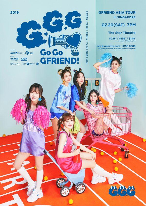 2019 GFRIEND Asia Tour in Singapore