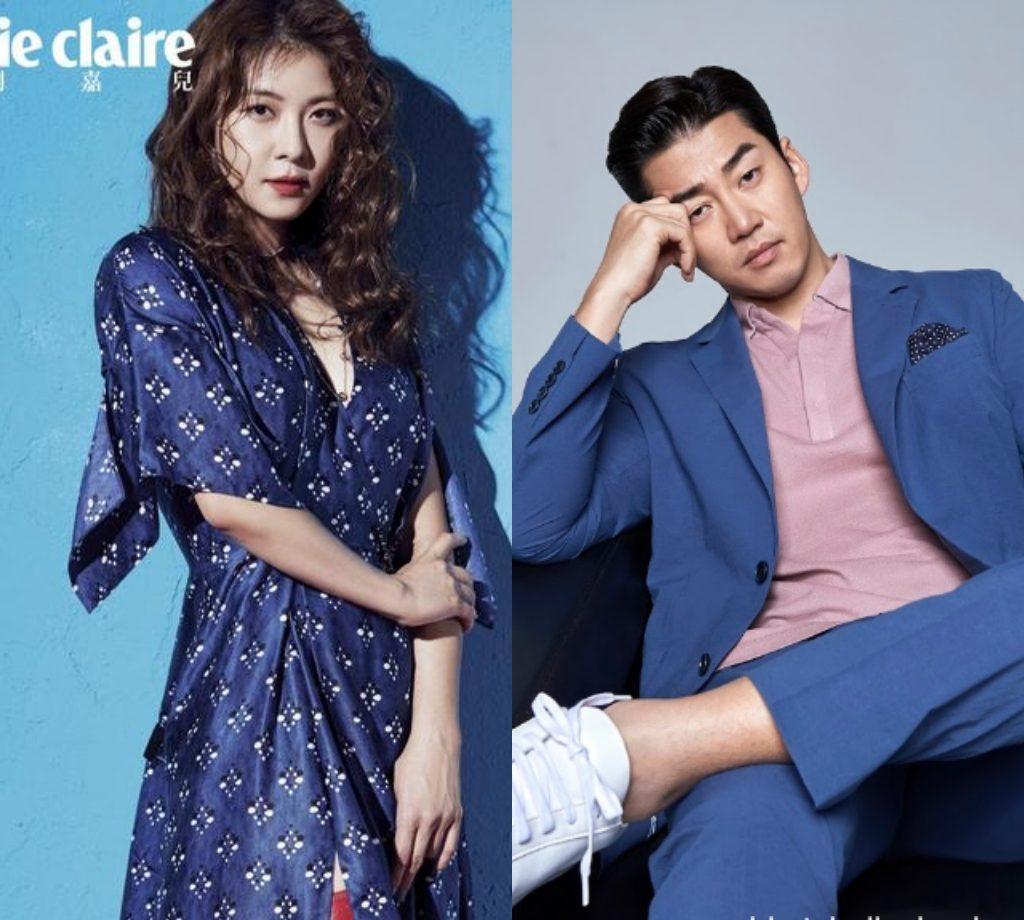 Yoon Kye Sang and Ha Ji Won