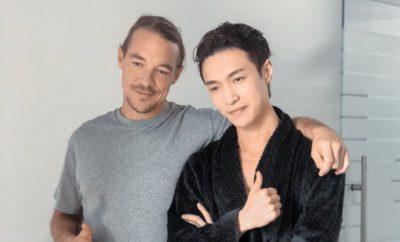 Diplo and Lay Zhang