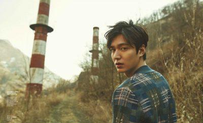 Lee Min Ho Cosmopolitan