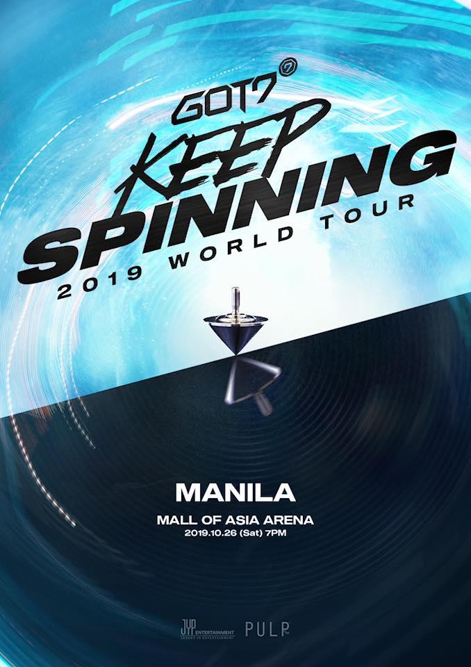 GOT7 in Manila