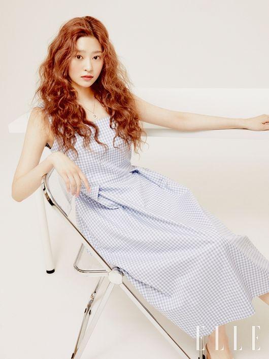 IZ*ONE Minju For ELLE Magazine