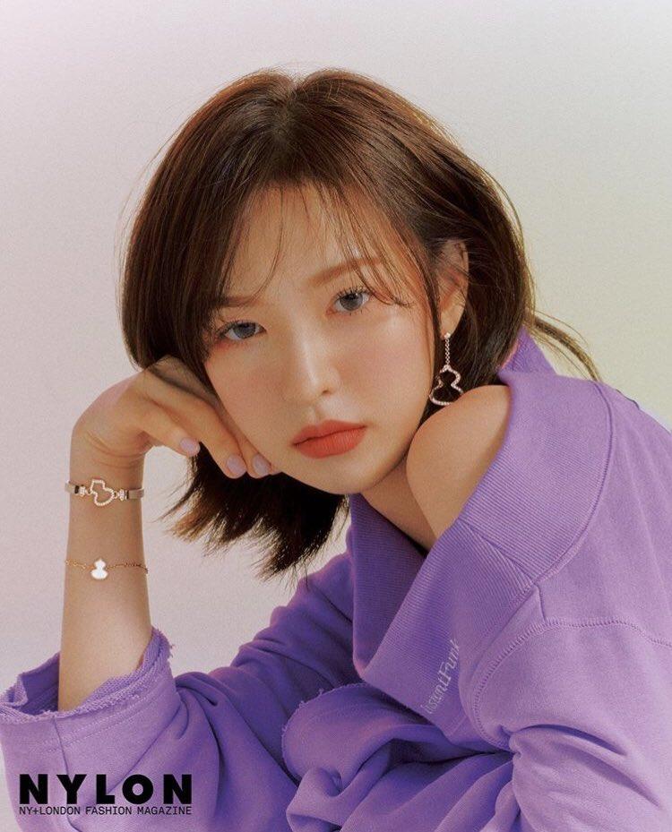 Red Velvet's Wendy for NYLON Magazine