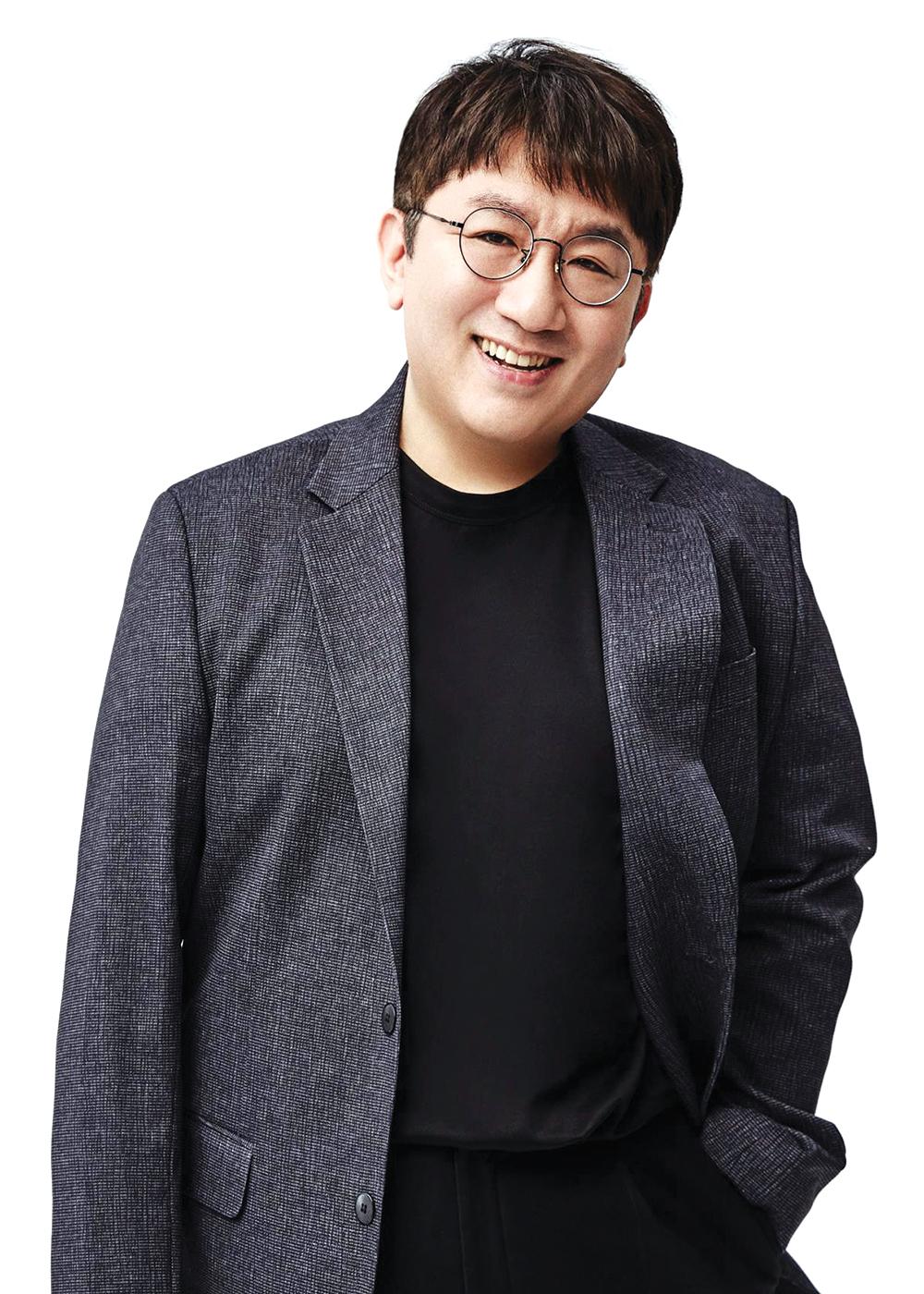 Lee Soo Man and Bang Si Hyuk for Variety