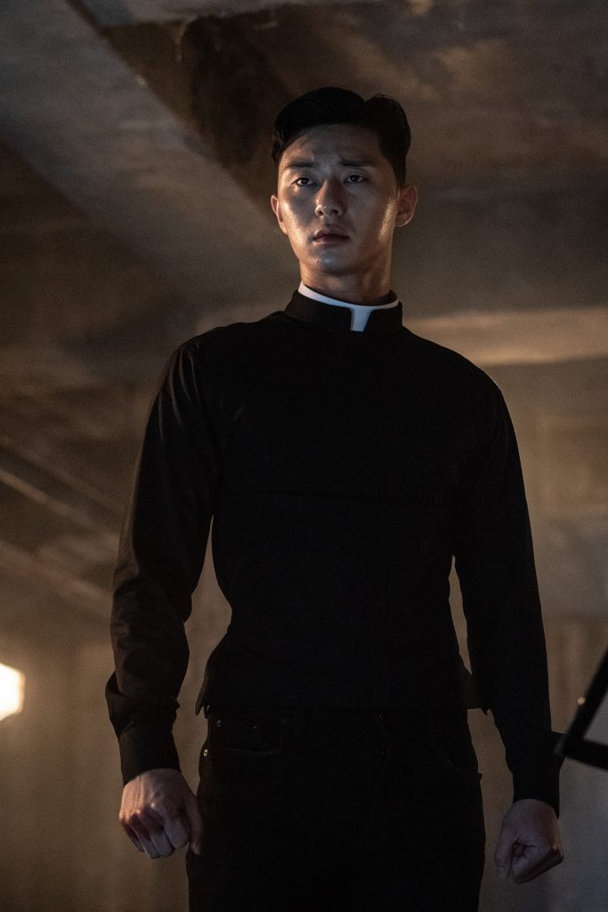 """The Divine Fury"""" Drops Newest Character Stills Of Park Seo Joon ..."""