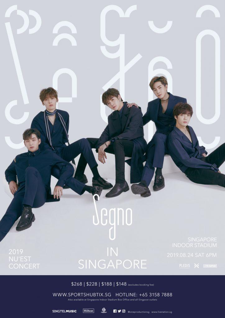 2019 NU'EST CONCERT 'Segno' In Singapore