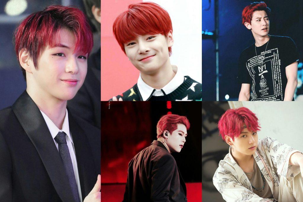 Idol List 10 Male K Pop Idols Who Radiated Fiery Vibes With Red Hair