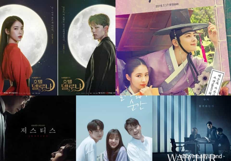 July 2019 Korean Drama Releases: