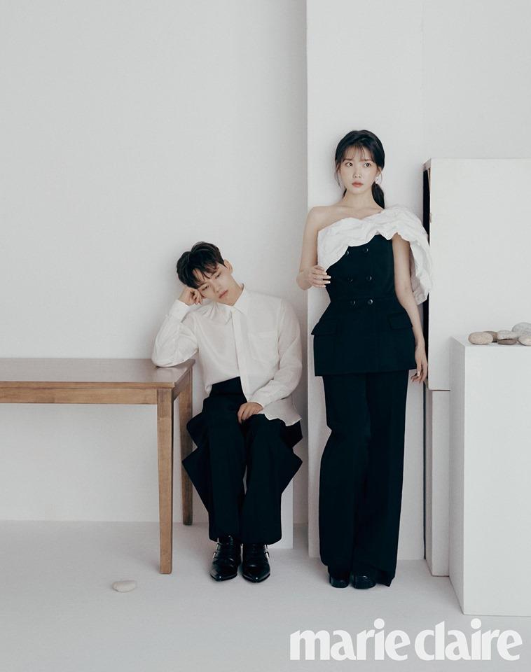 IU and Yeo Jin Goo