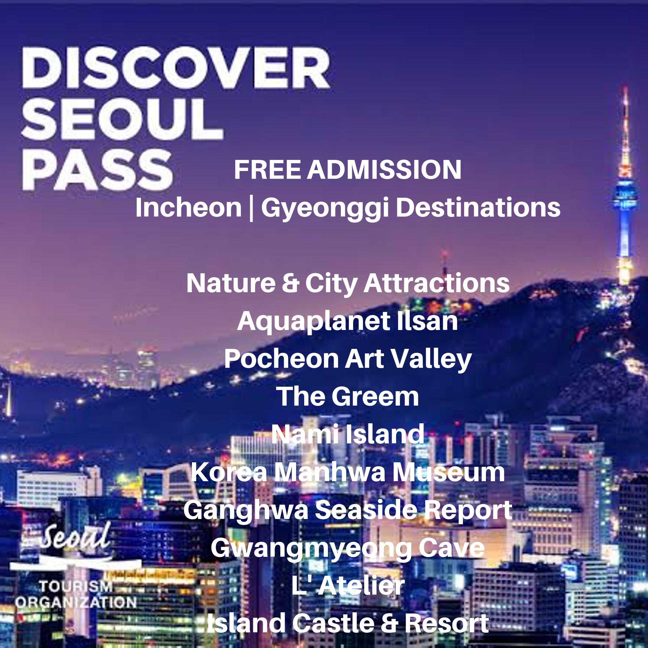 Discover Seoul Pass Seoul Plus Edition