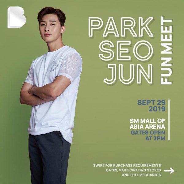 Park Seo Joon Bench