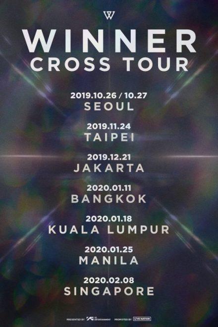 WINNER CROSS TOUR
