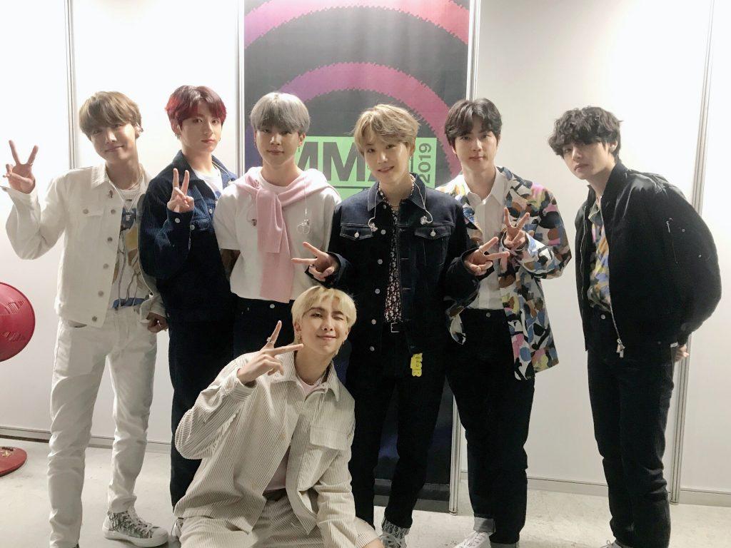 BTS Melon Music Awards 2019