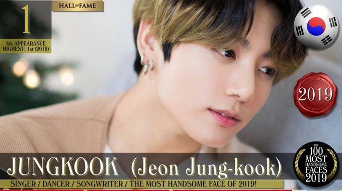 BTS Jungkook TC Candler 100 Most Handsome Faces