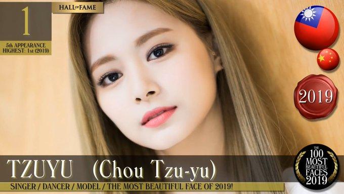TWICE Tzuyu TC Candler 100 Most Beautiful Faces