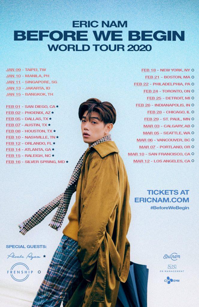 eric nam world tour
