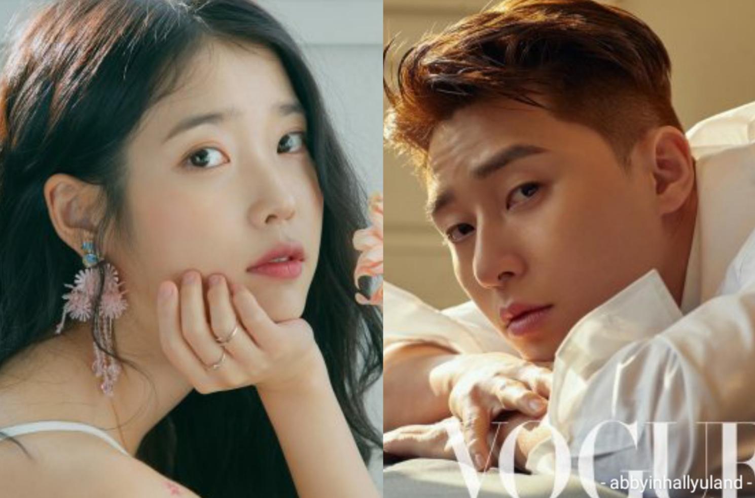 IU and Park Seo Joon