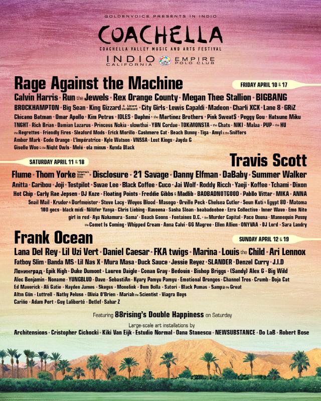BIGBANG Coachella 2020