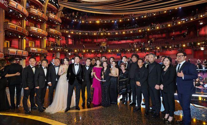 Parasite at Oscar's Awards