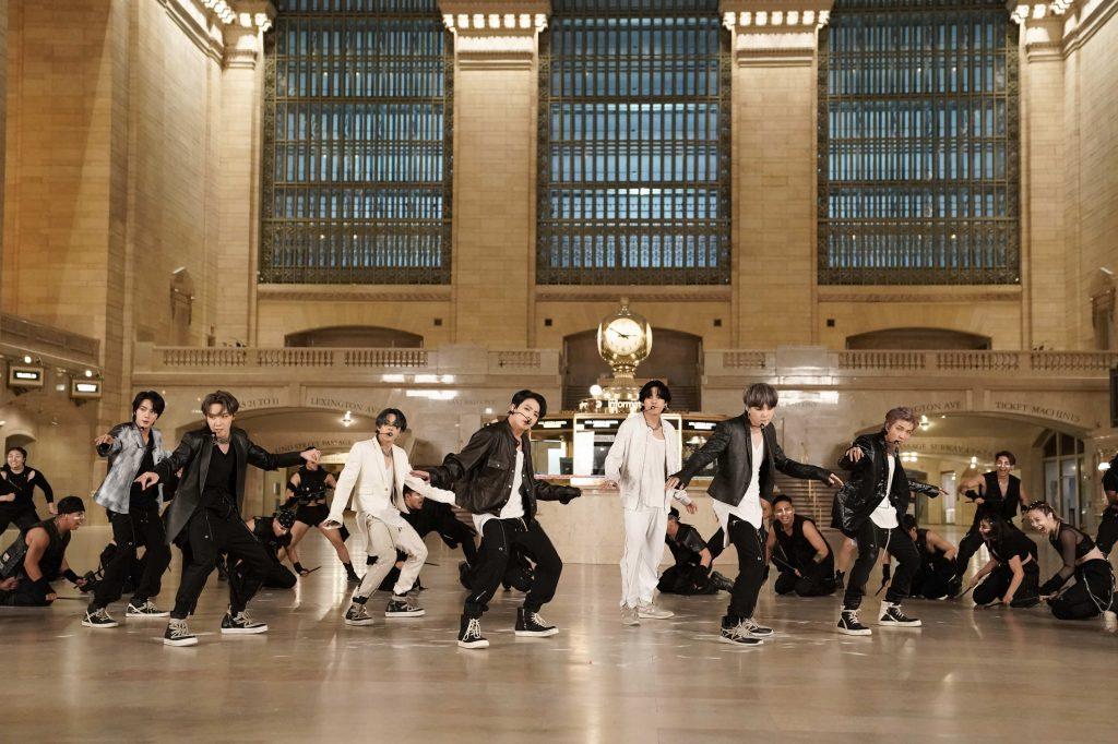 BTS Jimmy Fallon