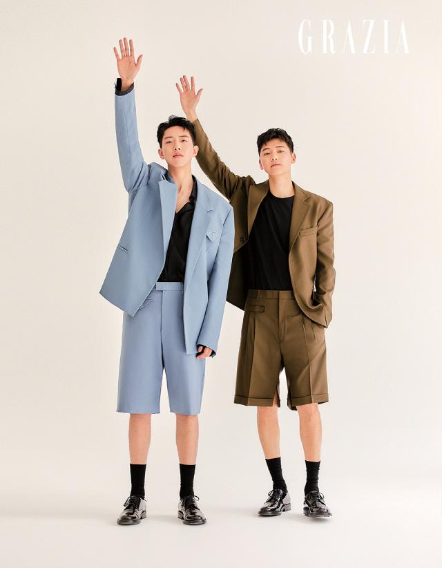 Kang Min Hyuk and Lee Jung Shin
