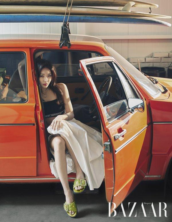 Chungha Harper's Bazaar