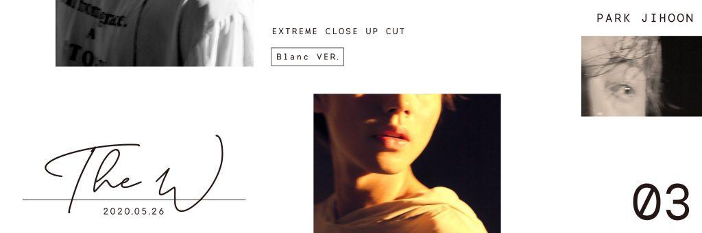 Park Ji Hoon The W Blanc ver.