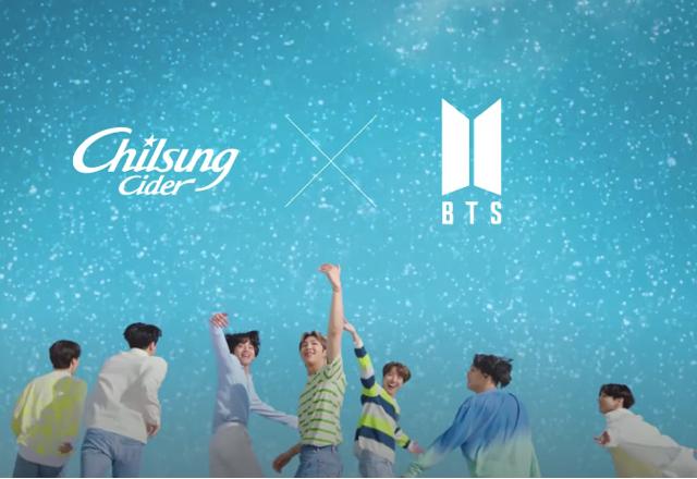 BTS x Chilsung Cider