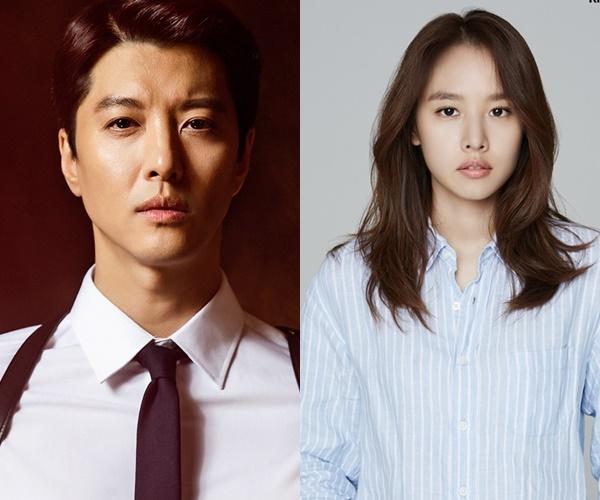 Lee Dong Gun and Jo Yoon Hee