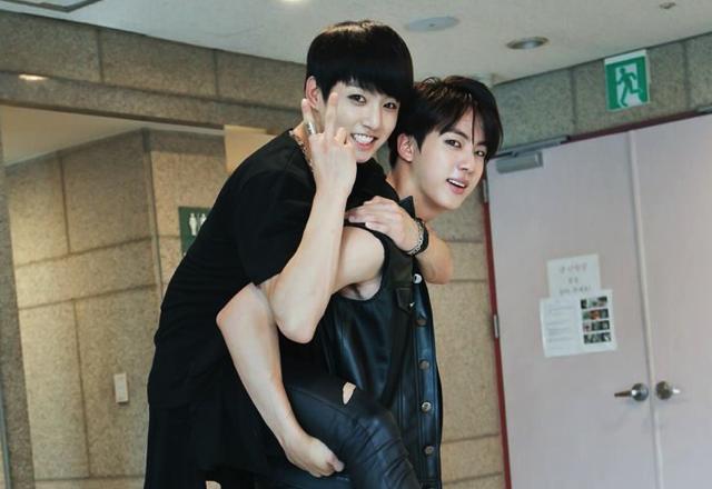 BTS Jungkook and Jin